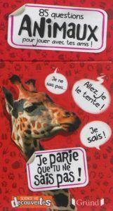 Incroyable mais vrai ! - 85 questions animaux http://lesptitsmotsdits.com/8-livres-series-docus-jeunesse-animaux/