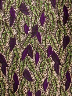 African Fabric Dutch Real Wax Block Print Hollandais 6 Yards 100% Cotton a1596