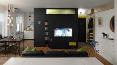 Home Design Ideas: Small Apartments Under 50 Square Meters Home Design, Small House Design, Best Interior Design, Design Ideas, Small Space Living Room, Cozy Living Rooms, Studio Apartments, Small Apartments, Minimalist House Design