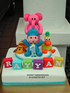 Pocoyo & Friends Birthday Cake | Flickr - Photo Sharing!