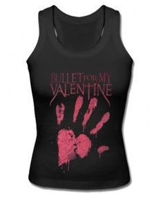 Bullet For My Valentine Bloody Hand Tank Top