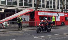 Five Hurt As London Bus Roof Ripped Off