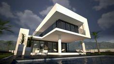 Villa Kabul - a 3 bedroom Contemporary villa designed for Cosan Development, Spain