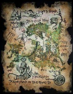 Rlyeh Map by MrZarono.deviantart.com on @deviantART