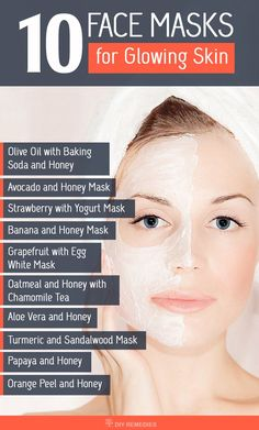Beauty // Have a soft and glowing skin without spending much amount on beauty products or parlors with these DIY face masks.