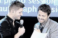 17. He also has a quality bromance with Misha Collins. | Community Post: 55 Reason Jensen Ackles Is The Best Person Ever