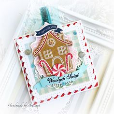 Artisant Beautiful Christmas Cards, Arts And Crafts, Diy Crafts, Little Darlings, Gingerbread, Crafty, Sweet, Handmade, Scrapbooking