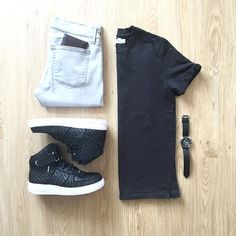 WEBSTA @ mrjunho3 - Keeping it casual for afternoon meetings Shirt: @topman…