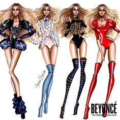 Beyonce - Formation Tour Collection - by Armand Mehidri
