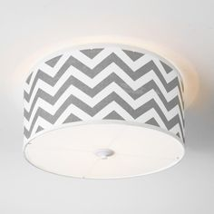 chevron drum shade ceiling light add a trendy colorful accent to a boring white ceiling our chic chevron drum shade ceiling lights go in every room baby bedroom ceiling lights