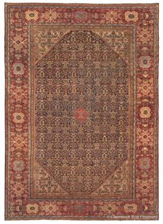 SULTANABAD - West Central Persian 12ft 1in x 17ft 1in Circa 1900