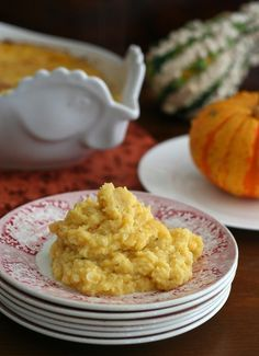 Butternut Squash & Cauliflower Casserole -- Low-Carb & Gluten-Free {recipe --> www.asweetlife.org/recipes/butternut-squash-cauliflower-casserole-low-carb-gluten-free/ } | alldayidreamaboutfood.com via asweetlife.org