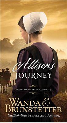 9781630587413 Brides of Webster County Bk4: Allison's Journey BRUNSTETTER, WANDA £5.50