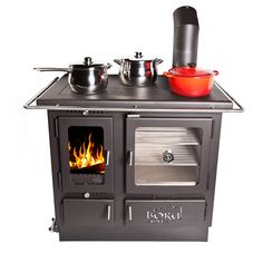 The Ellis Cook Stove . looks like a very modern version of my Grandma's old wood burning cook stove. Wood Burning Cook Stove, Wood Stove Cooking, Pellet Stove, Stove Oven, Kitchen Stove, Gas Stove, Kitchen Wood, Wood Furnace, Decorating Kitchen