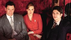 The Hour - Murder and political intrigue revolve around a BBC current affairs programme launched at the time of the Suez crisis. (Ben Whishaw, Romola Garai and Dominic West)