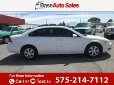 2007 *Chevrolet* *Chevy*  *Impala* *LS*  81k miles $9,995 81823 miles 575-214-7112 Transmission: Automatic  #Chevrolet #Impala #used #cars #BaseAutoSales #LasCruces #NM #tapcars