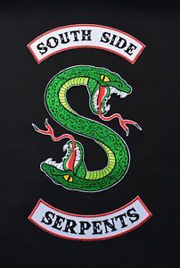 Riverdale South Side Serpents Inspired Embroidered Patch,Southside Iron on patch - Photo Riverdale Netflix, Riverdale Cw, Riverdale Memes, Riverdale Funny, Riverdale Poster, Riverdale Aesthetic, Pretty Little Liars, Riverdale Wallpaper Iphone, Riverdale Cole Sprouse