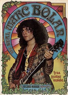 Marc Bolan in Record Mirror.