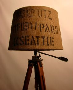 And on a tripod lamp...yes please.