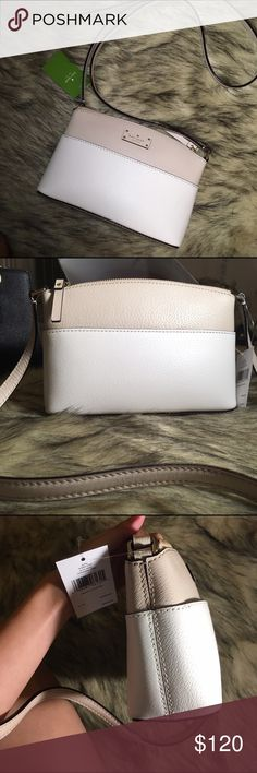 Kate spade Millie crossbody bag Brand new with tags, receipt provided if requested. Perfect condition, no marks. Bought from Kate spade store in Nashville. Comment if you want more pictures or other details. Made with genuine leather! You can get it for less if you find me on depop at the same username! kate spade Bags Crossbody Bags