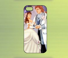 Beauty And The Beast iPhone 4/4S iPhone 5 Galaxy S2/S3/S4 & Z10 | WorldWideCase - Accessories on ArtFire