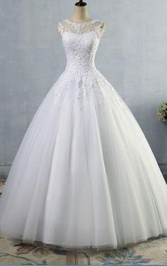 Princess Wedding Dress Lace Sequins A Line Lace Up Bridal Dress Long Wedding Dresses, Wedding Dress Styles, Bridal Dresses, Wedding Gowns, Bridal Wedding Shoes, Lace Ball Gowns, Tulle Ball Gown, Princess Wedding, Beautiful Dresses