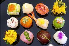 Jun's Kitchen: How to Make Temari Sushi (Sushi Balls)