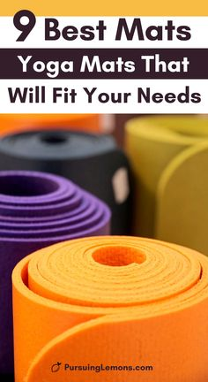 The 9 Best Yoga Mats That Will Fit Your Need | Want to pick the best yoga mat for you? Whether you are looking for a non-slip yoga mat, hot yoga mat, gaiam yoga mat or traveling yoga mat, you can look at this list of the best yoga mats catered for different needs. #yogamats #hotyogamat #workoutmats yoga poses for beginners YOGA POSES FOR BEGINNERS | IN.PINTEREST.COM HEALTH EDUCRATSWEB