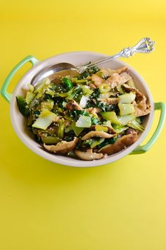 Ginger Sesame Bok Choy with Shiitake Mushrooms | Things I Made Today