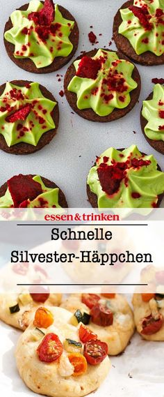 Silvester-Essen: einfache & köstliche Rezepte Looking for snacks for the New Year's Eve party? We have the best New Year's recipes! First Finger Foods, Toddler Finger Foods, Party Finger Foods, Snacks Für Party, Easy Delicious Recipes, Yummy Food, Drink Party, Silvester Snacks, Fingers Food