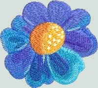 BFC-Creations Machine Embroidery Window - Floral Fantasy and Free Design