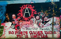 Those who fight for freedom, never die! #chile #graffiti