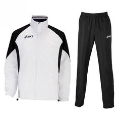 Asics Suit Europe melegítő fehér,fekete unisex HUN felirattal M Asics, Adidas Jacket, Europe, Suit, Athletic, Unisex, Jackets, Men, Fashion