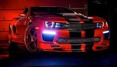 Sick RED Widebody Camaro T Tops, w/black & red Forgiato wheels. Red Camaro, Chevrolet Camaro, Black Camaro, Corvette, My Dream Car, Dream Cars, Alfa Romeo, American Muscle Mustang, Car Tuning