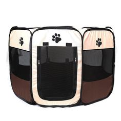 SHUANGWEI Portable Pet Cage, Color and Size Varied, Indoors andOutdoors Dog Crate,Suitable for Dogs/Cats/Small Animals ** Want additional info? Click on the image. (This is an affiliate link) #MyPet
