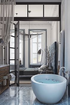 livingpursuit:  Designed by Yuliya Rastorguyeva  Luxury Bathroom   @aluxurylifestyle