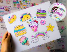 Doodle Baby, Cute Doodle Art, Kawaii Doodles, Cute Doodles, Fun Arts And Crafts, Crafts To Do, Birthday Card Drawing, Birthday Cards, Scrapbook Recipe Book