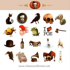 GIPHY is how you search, share, discover, and create GIFs. Edgar Allan Poe, Sherlock Holmes, Inktober, Rooster, Horror, Apple, Stickers, Crows, Ravens