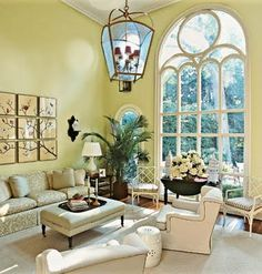 Chinoiserie Chic: The Green Chinoiserie Living Room Palladian Window, Window Films, Teen Bedding, Chinoiserie Chic, Beautiful Interiors, Great Rooms, Decoration, Furniture Decor, Bedroom Decor