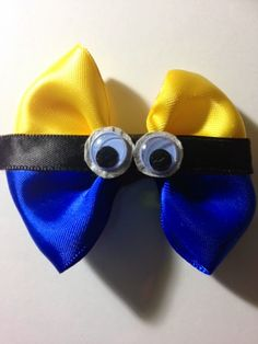 Despicable Me Minion Hair bow