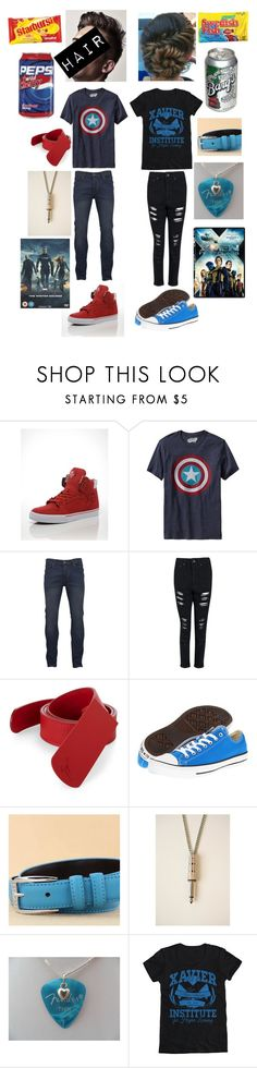 """""""Superhero Marathon With My BFF"""" by i-am-sherlocked27 ❤ liked on Polyvore featuring Supra, Old Navy, Brave Soul, Boohoo, Giuseppe Zanotti, Converse and Charm n Style"""