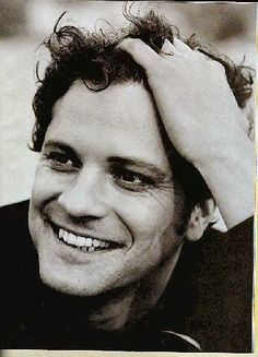 colin firth  Very british looking but there's something about him ! ;)