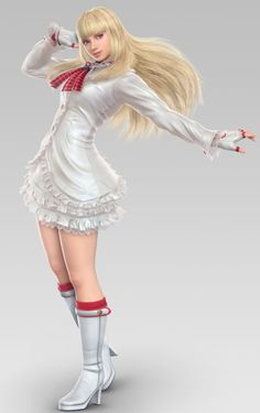 Lili Rochefort from Tekken