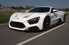 You can see why white is a top color choice (#2) in the country. 2009 Zenvo ST1