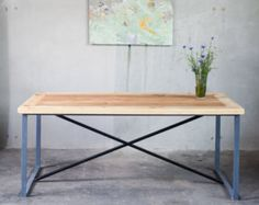 Vinz dining table by Richterei on Etsy