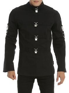 Tripp Black Straight Jacket | Hot Topic