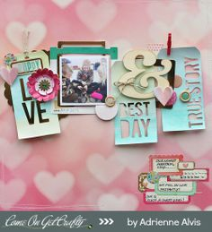 #papercraft #scrapbook #layout Puppy Love by @Kaellyn Norby Norby Norby Norby Norby Norby Norby Norby Marrs RODRIGUEZ at @Studio_Calico