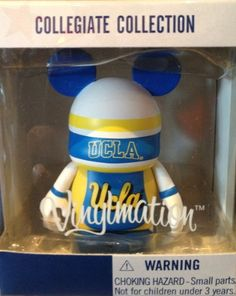 disney parks ucla bruins vinylmation 3 inches disney parks exclusive limited availability