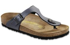 Birkenstock Gizeh. again, SOOO comfortable. I have a few pair, but there's about 6 more colors I want.