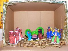FREE Printable Nativity Scenes